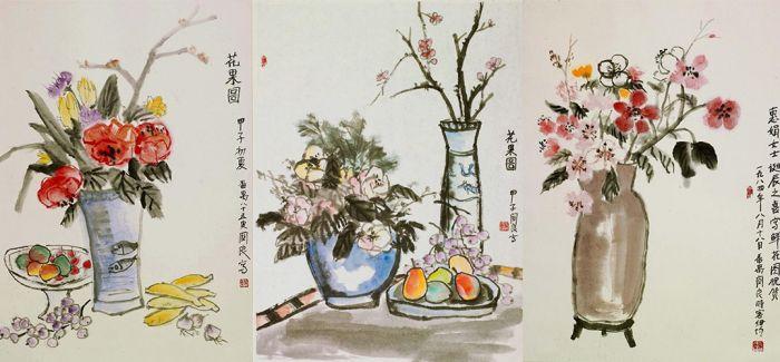 黄青新珍藏关良静物作品亮相华艺国际17春拍