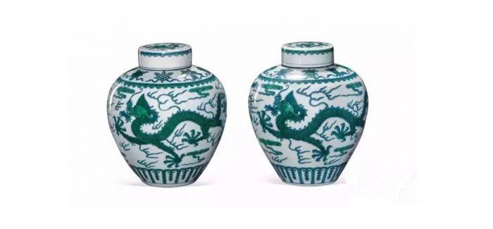 中国嘉德春拍:明清御制龙纹瓷器玉器
