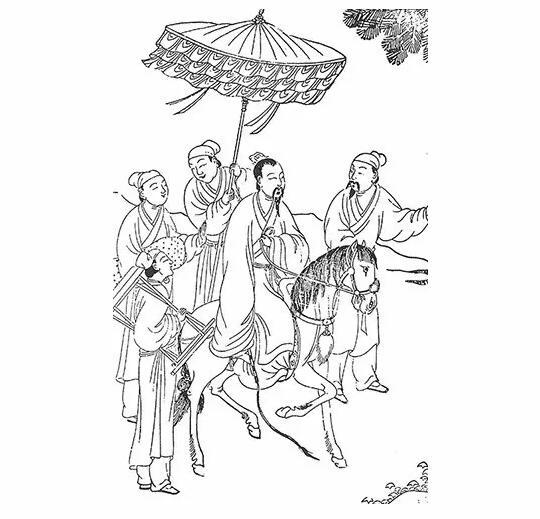 中国古典门框简笔画