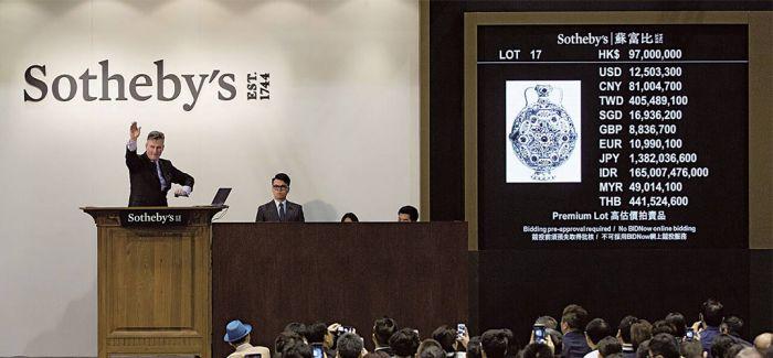 欧美大藏家集中出售 香港春拍古董市场释放回暖信号