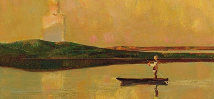 仿佛在伏尔加河畔 倾听画家之声