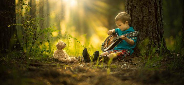 业余摄影师父亲镜头下的童真世界