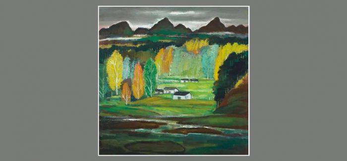 佳士得亚洲二十世纪及当代艺术拍卖林风眠《山村》
