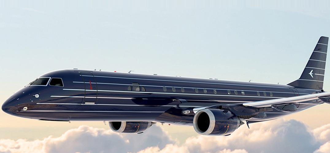 "ERJ航空公司(巴西航空工业公司),Embraer S.A.(NYSE:ERJ、BM&F Bovespa:EMBR3)创立于1969年,前身是Embraer-Empresa Brasileira de Aeronáutica S.A.,于2010年11月改为现用名,总部位于巴西圣若泽杜斯坎普斯,是全球最大的120座级以下商用喷射飞机制造商。近日,该公司推出了一款非常具有艺术气息的豪华喷气机 ""曼哈顿(manhattan)"",这款飞机由由曾任职华特迪士尼梦想工程"
