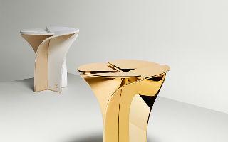 路易威登花瓣座凳 米兰设计周华美绽放