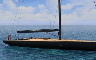 摩纳哥沃利游艇工厂将会推出93英尺豪华帆船