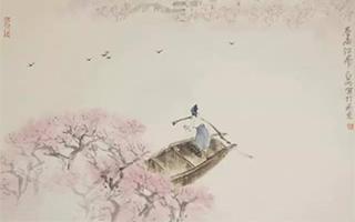 当浪漫的苏格兰油画与江南山水画并置在一起