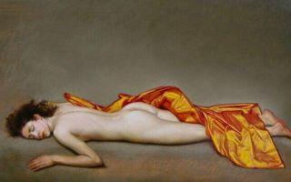 写实派画家Martha Erlebacher笔下灵动的人体之美