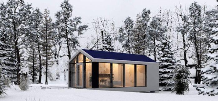 自给自足的3D 列印住宅小屋 适应各种环境