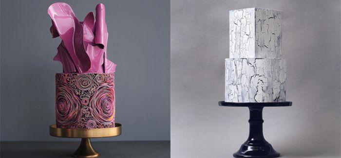 融合建筑与艺术的造型蛋糕
