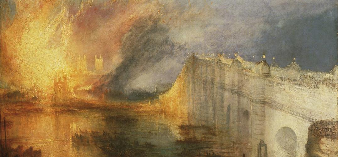 透纳笔下的议会大厦旷世大火何以如此销魂