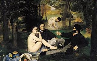 """马奈和浮世绘:最成功的""""人体移植术"""""""
