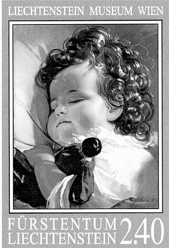 《睡梦中的小公主》