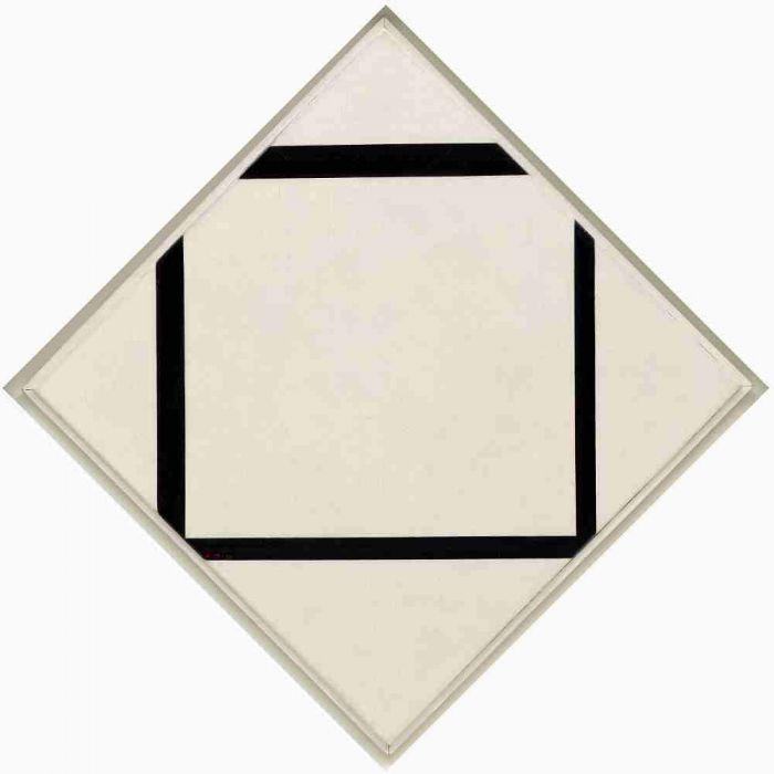 《1号作品:菱形》,Piet Mondrian ,1930年