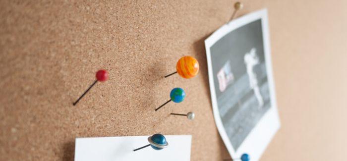 设计师Duncan Shotton创作行星主题图钉Planet Pins