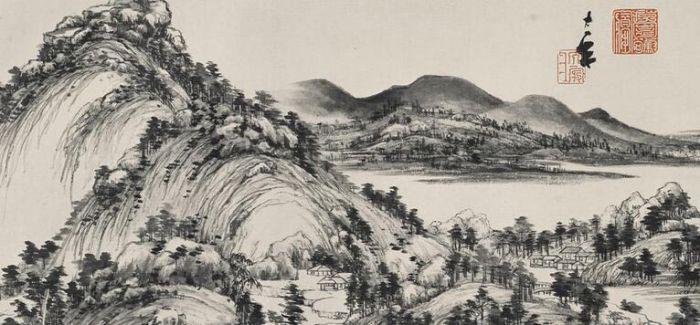 他将《富春山居图》的景色倒流逆转成7米长卷