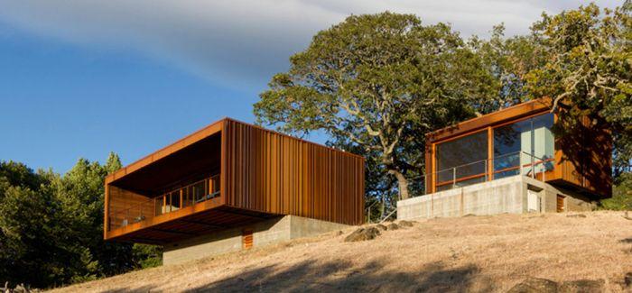 组合式预制房索诺玛weehouse | 俯瞰加利福尼亚山谷
