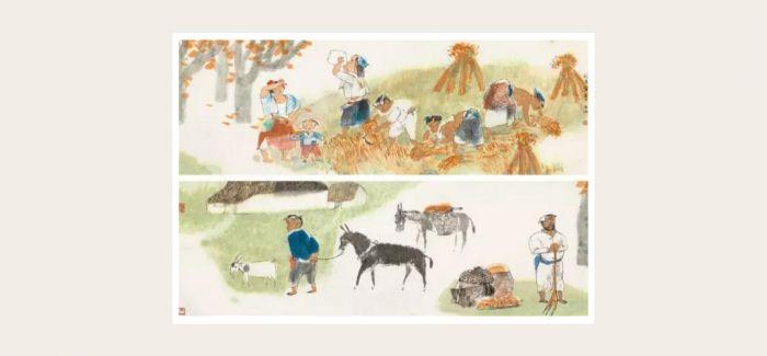 《秋收图》:周思聪和她笔下的彝族女子