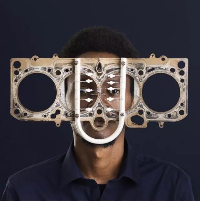 废品手工制作眼镜