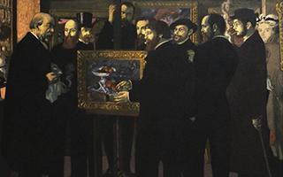 莫里斯·丹尼和欧仁·德拉克罗瓦 从画室到博物馆