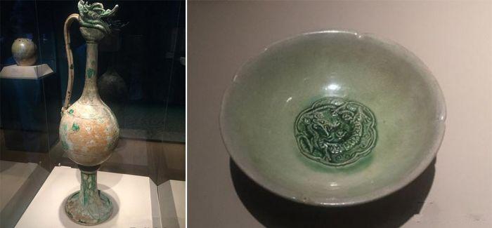 """千年前的""""海上丝路"""":""""黑石号""""文物纽约展出"""