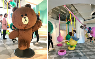 全球第二家!in KIDS WITH LINE FRIENDS 探店