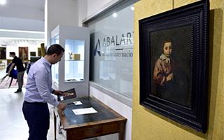 四百年前画作鉴定为名家委拉兹开斯真迹并顺利拍出