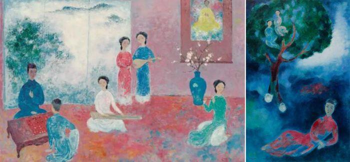 佳士得香港春拍:越南艺术之深情画意
