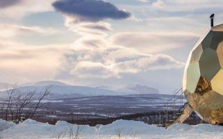 """瑞典郊外一颗""""太阳蛋""""桑拿房 SOLAR EGG"""