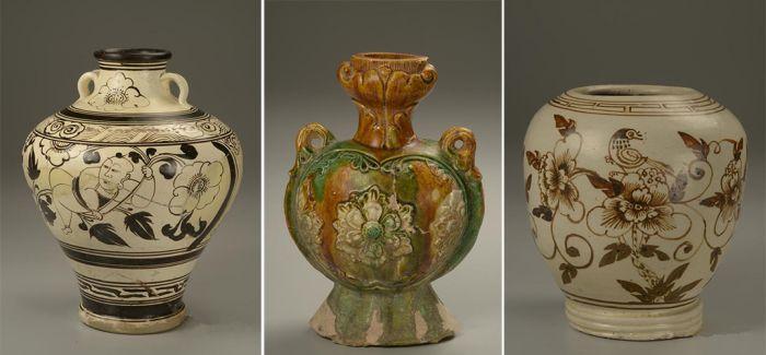 耀州窑历代陶瓷精品展亮相长沙博物馆