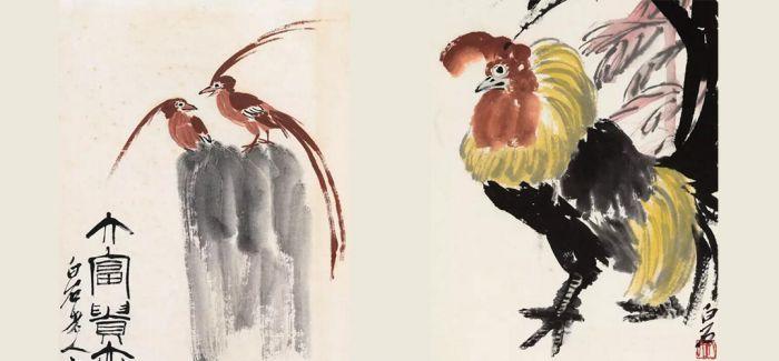 中国嘉德春拍:齐白石笔下的禽鸟果蔬