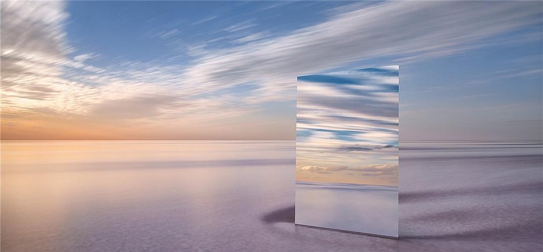 如果天空也爱照镜子