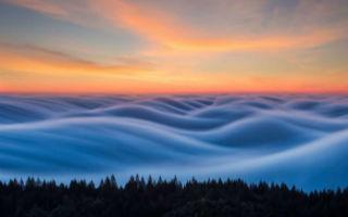 奇幻雾浪 气势壮观