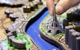4D 城市立体拼图 体会美景的时光堆叠