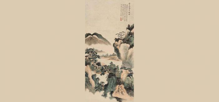 中国嘉德:张大千《蕃马图》 吴湖帆《江深草阁》