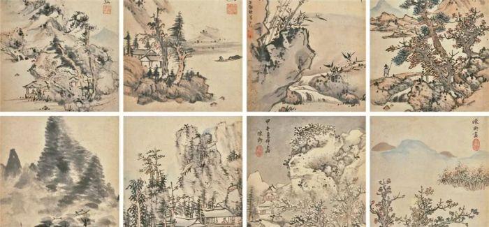 武林风骨 江南余绪:蓝瑛及其弟子册页赏析