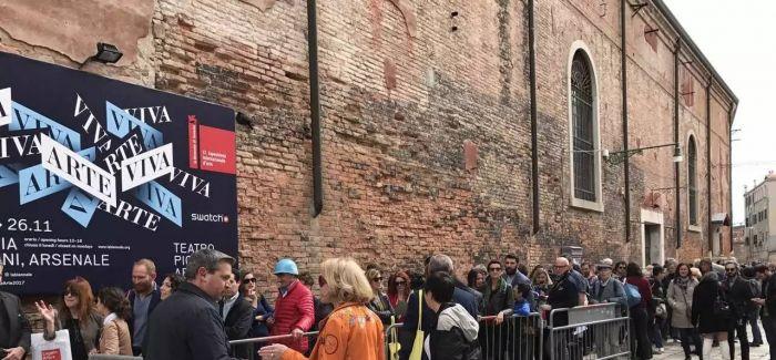 海量图集告诉你,威尼斯双年展VIP预展首日什么样