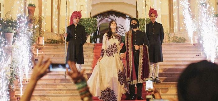 融合传统与现代 打造华丽梦幻的印度式婚礼派对