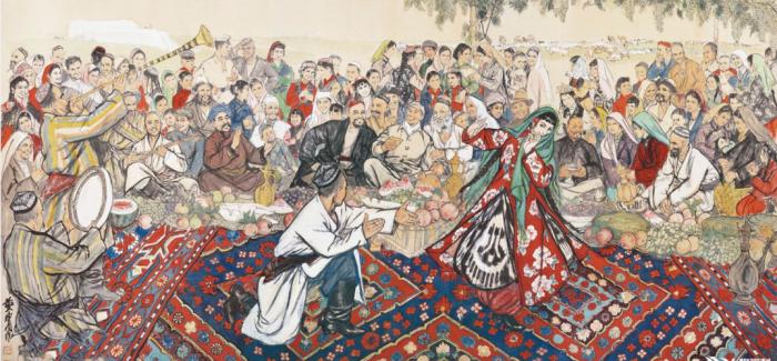 华彩丹青庆北京画院60年