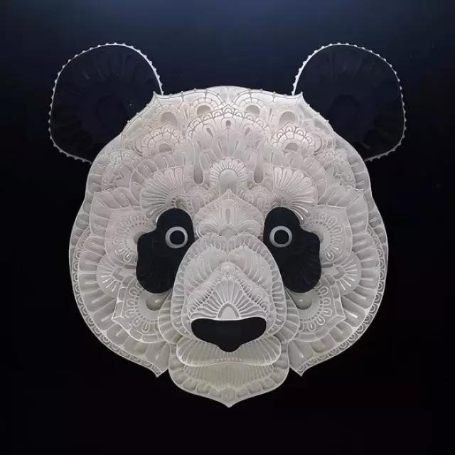 惊为天人的动物纸雕作品_视觉_视觉_凤凰艺术