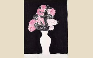 常玉花卉代表作《白瓶花卉》将亮相香港春拍晚间拍卖