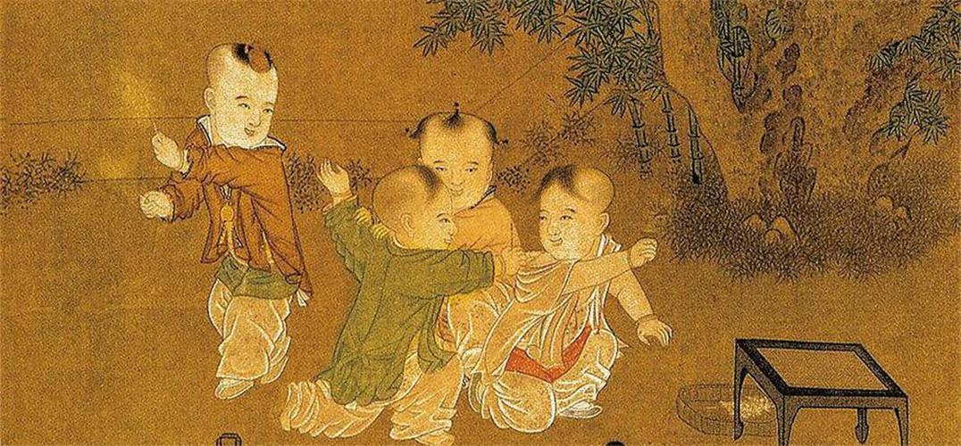 黄衣古代手绘