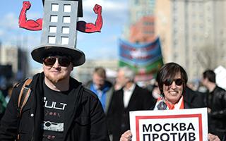 莫斯科欲拆除建构主义住宅 激怒建筑保护人士