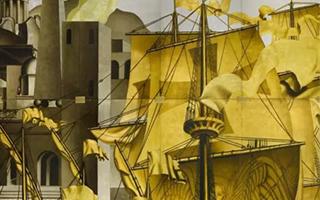 纽约苏富比呈献传奇远洋邮轮诺曼底号之装饰壁画