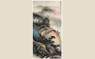 中国嘉德春拍:吴湖帆《玉屏秋色》