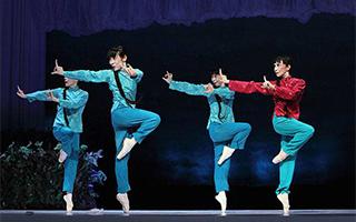 日本松山芭蕾舞团来华再演《白毛女》
