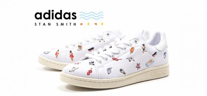 adidas运动鞋 让你散发热情洋溢的海滨风情