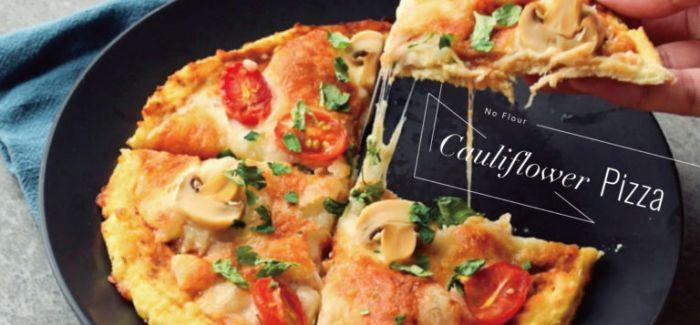 蔬食新吃法 健康无面粉的椰菜花披萨