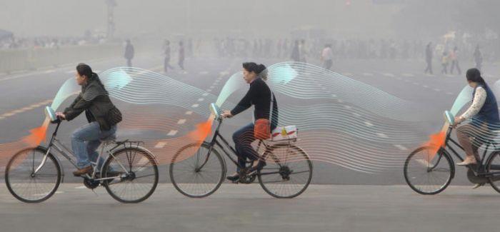 一边骑车 一边净化空气