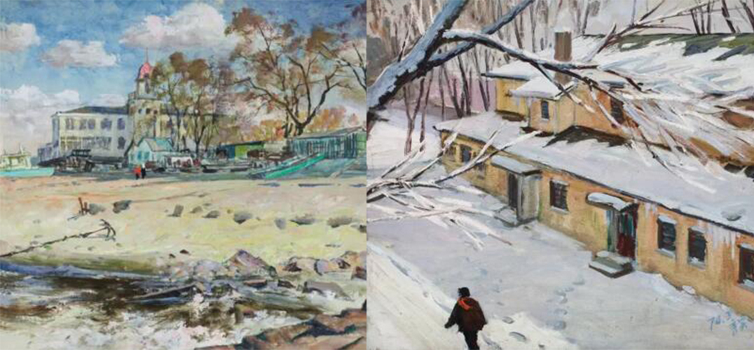 中国嘉德春拍:李秀实的油画风景创作